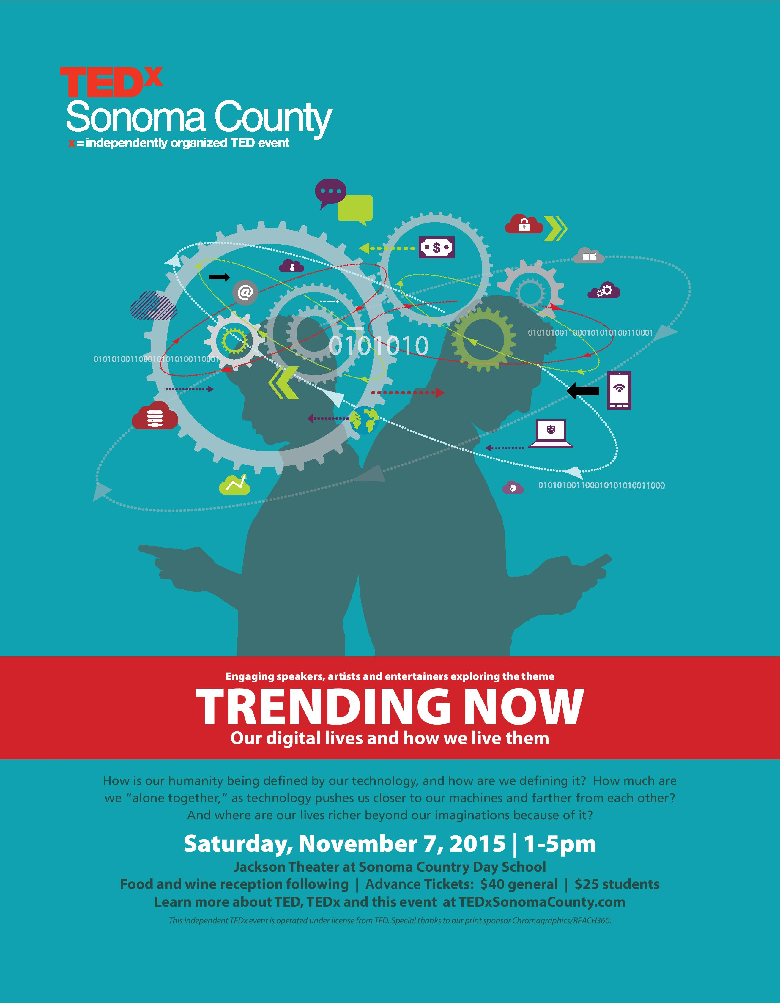 Download TEDxSonomaCounty PDF Flyer