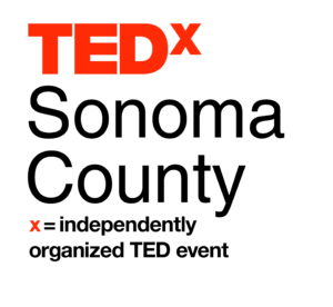 TEDx Logo Stacked on White